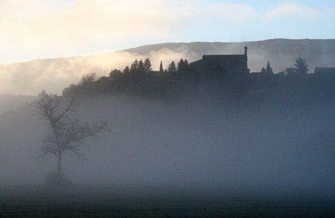 Lagrand dans le brouillard