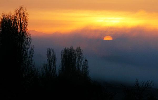 La levée du soleil