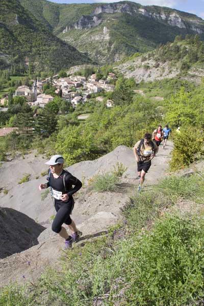 Trail de la Paix TRESCLEOUX 2013