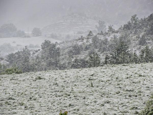 La neige en Mai, Trescléoux, Hautes-Alpes