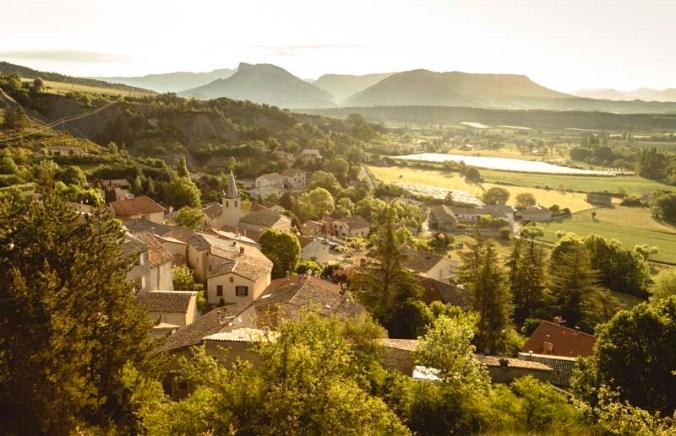 Le village de Trescléoux
